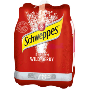 Schweppes Russian Wild Berry 6x1,25l