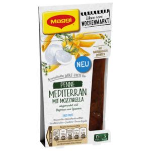 Maggi Würz-Paste Penne Mediterran mit Mozzarella 89ml