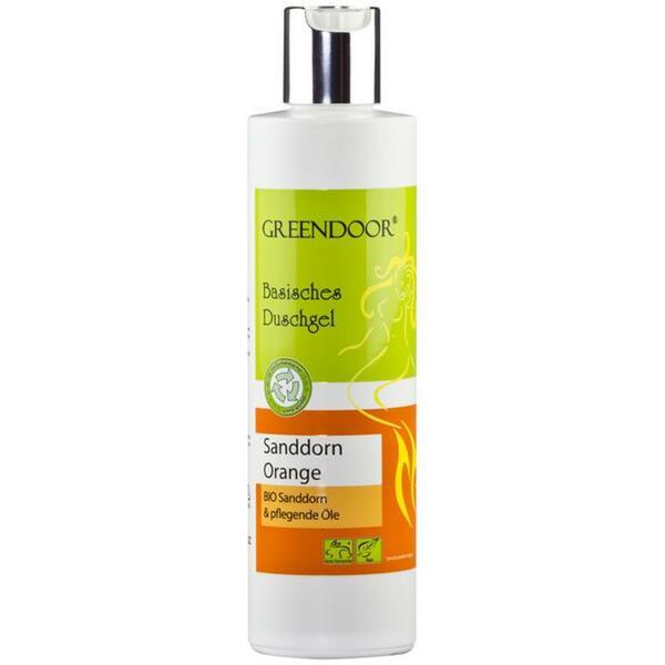 GREENDOOR basisches Duschgel Sanddorn Orange 3.58 EUR/100 ml
