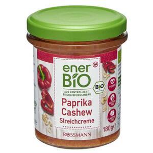 enerBiO Paprika Cashew Streichcreme 0.94 EUR/100 g