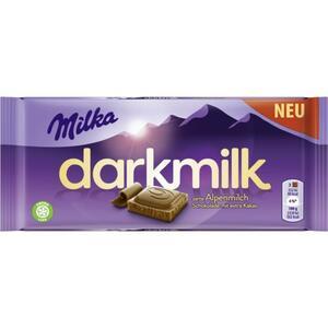 Milka darkmilk zarte Alpenmilch Schokolade 1.16 EUR/100 g