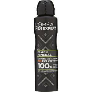 L'Oréal Paris men expert Deodorant Body Spray Black Mi 1.33 EUR/100 ml