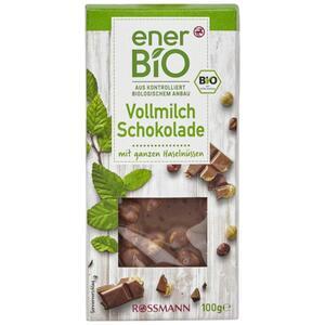 enerBiO Vollmilch Schokolade