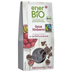 enerBiO Ganze Himbeeren in Zartbitterschokolade 3.52 EUR/100 g