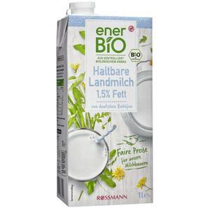 enerBiO haltbare Landmilch 1,5% Fett