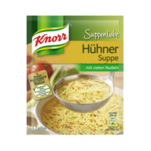 Knorr Suppenliebe 3 Teller