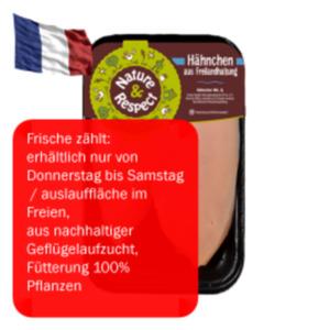 Frisches FreilandHähnchenbrustfilet Nature & Respect