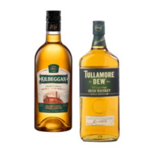 Tullamore Dew oder Kilbeggan Irish Whiskey