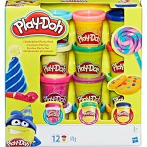 Play-Doh - Buntes Party-Set, 12-tlg. (B9021)