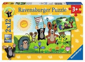 Ravensburger Puzzle Lernspaß mit Maulwurf