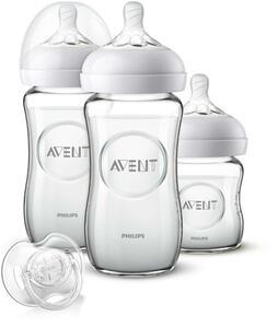 PHILIPS AVENT Natural 2.0 Newborn-Glas-Set