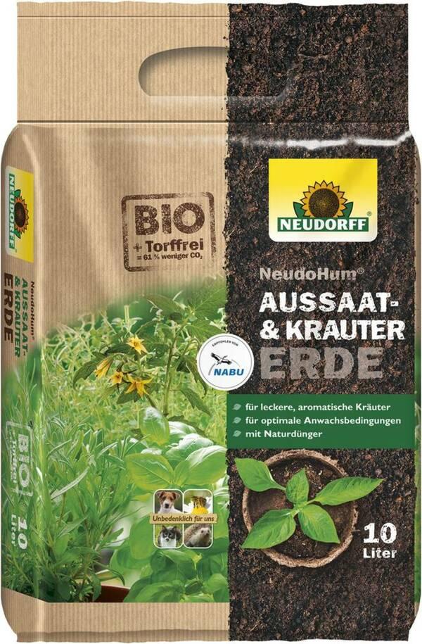 NeudoHum Aussaat- und Kräutererde Neudorff