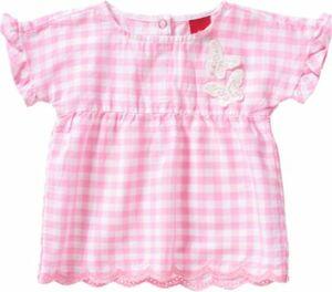 Baby Kurzarmbluse mit Schmetterlingen pink Gr. 86 Mädchen Kleinkinder
