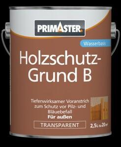 Primaster Holzschutzgrund B ,  2,5 l transparent