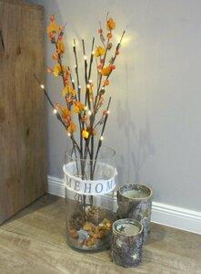 LED Zweig Herbst Beeren