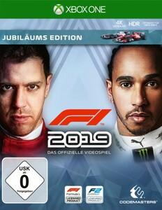 XBoxOne Spiel F1 2019 ,  Jubiläums Edition