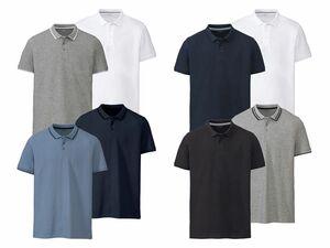 LIVERGY® 2 Herren Poloshirts Slim Fit