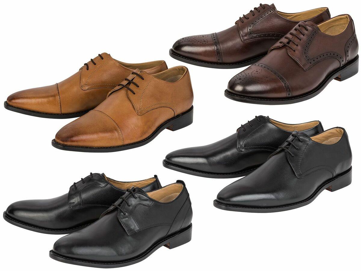 Bild 1 von LIVERGY® Herren Leder-Businessschuhe