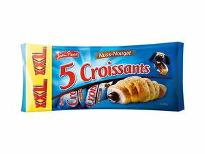 Nuss-Nougat-Croissants XXL