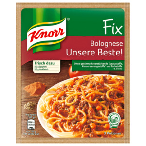 Knorr Fix Bolognese Unsere Beste