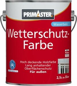 Primaster Wetterschutzfarbe ,  2,5 l, gelb
