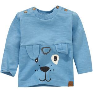 Newborn Langarmshirt mit Hundegesicht