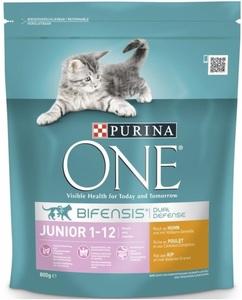 Purina One Cat Bifensis Junior reich an Huhn & Vollkorn-Getreide 0,8 kg