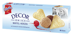 De Beukelaer Decor on Ice Waffel-Herzen 50 g