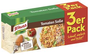 Knorr Tomatensoße Dreierpackung 3x 38 g
