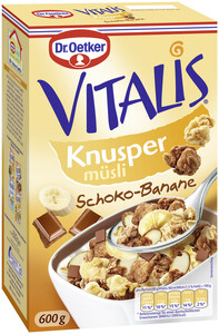 Dr.Oetker Vitalis Knusper Schoko-Banane 600 g