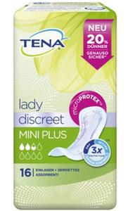 TENA Lady discreet Mini Plus 16 Einlagen für Blasenschwäche