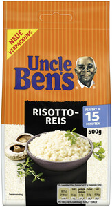 Uncle Ben´s Risotto Reis lose 15 Minuten 500 g