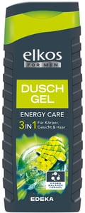 elkos For Men Duschgel Energy 3in1 300 ml