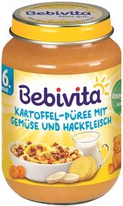 Bebivita Kartoffel-Püree mit Gemüse und Hackfleisch ab 6. Monat 190 g
