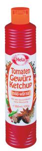 Hela Tomaten Gewürz Ketchup mild-würzig 800 ml
