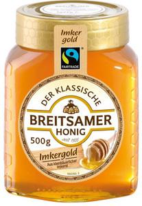 Breitsamer Fairtrade Imkergold Honig 500 g