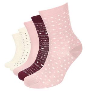 emotions Classic             Socken, 5er-Pack, Punkte, uni, Herzen