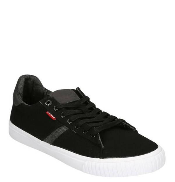 Levi´s             Sneaker, Schnürung, Logo-Patches, helle Laufsohle