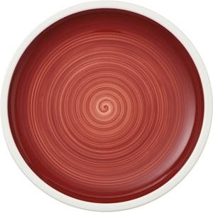 Villeroy & Boch Teller flach /Brotteller Ø 16 MANUFACTURE ROUGE Rot/Weiß