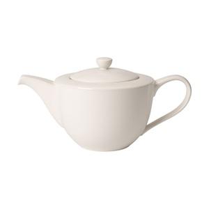 Villeroy & Boch Teekanne 1,3 l FOR ME Cremeweiß