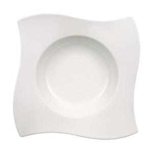 Villeroy & Boch Teller tief /Pastateller 28 x 28 cm NEW WAVE Weiß