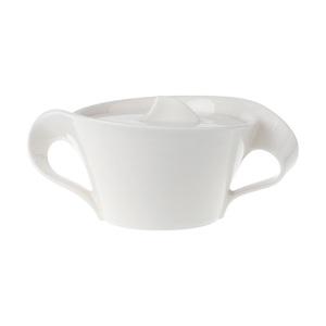 Villeroy & Boch Zuckerdose 260 ml NEW WAVE Weiß
