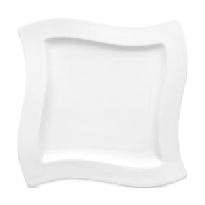 Villeroy & Boch Teller flach /Frühstücksteller 24 x 24 cm NEW WAVE CAFFÈ Weiß