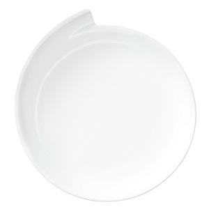 Villeroy & Boch Teller /Servierteller Ø 30 cm NEW WAVE LINE Weiß