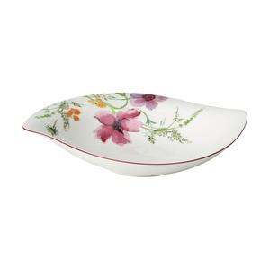 Villeroy & Boch Schale /Schüssel 20 x 27 cm MARIEFLEUR SERVE & SALAD mit Blumendekor