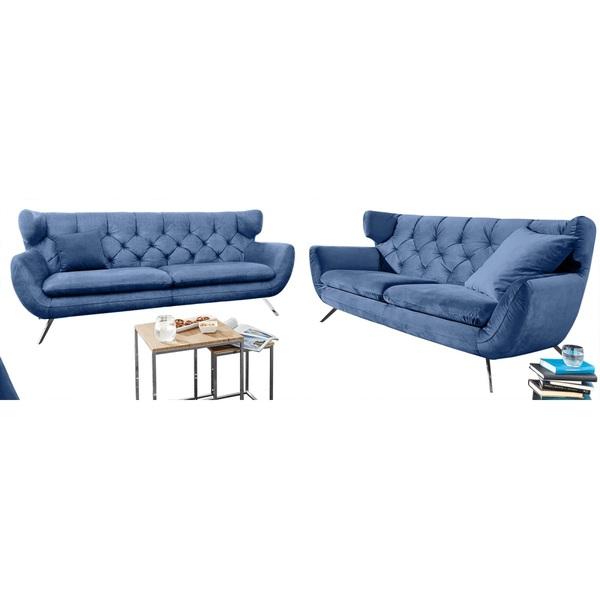 Ole Gunderson Sofa Garnitur NEW CASTLE 2-teilig Stoffbezug ...