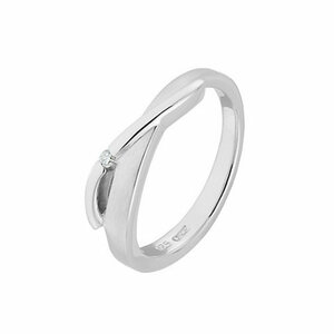 CHRIST Silver Diamonds Damenring 87471802