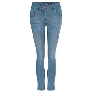 7/8 Damen Slim-Jeans im Five-Pocket-Style