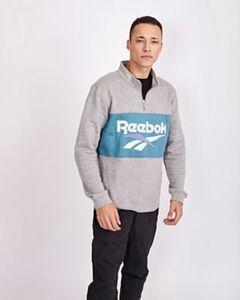 Reebok Vector 1/4 Zip Over The Head - Herren Sweatshirts