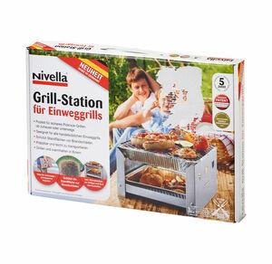 Grill-Station für Einweggrills